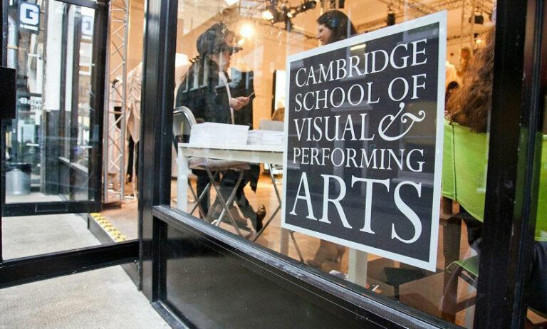 Cambridge School of Visual and Performing Arts CSVPA Biltur